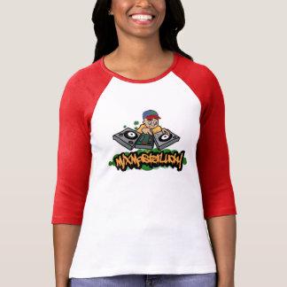 Grafische T-shirt van het Honkbal van de mengeling