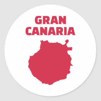 Gran Canaria Ronde Sticker