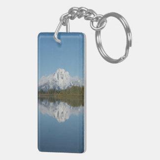 Grand Teton en zet Moran op keychain Sleutelhanger