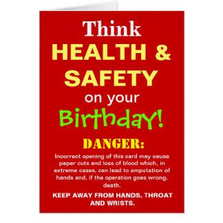 Grap van de Verjaardag van de gezondheid en van de Kaart