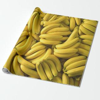 Grappig, Bananen, Fruit, Douane Inpakpapier