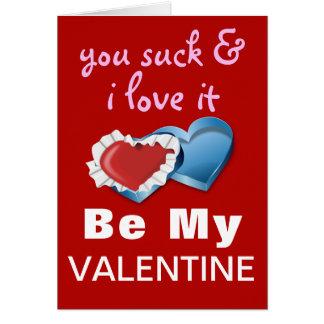 Grappig Brutaal Valentijn Wenskaart