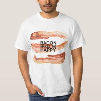 Grappig! De T-shirt van de Minnaar van het bacon