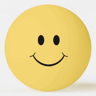 Grappig Duidelijk Gezicht Smiley Pingpongbal