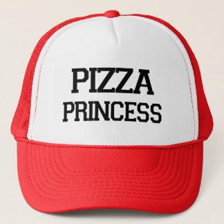 Grappig foodiespreuk van de Prinses van de pizza Trucker Pet