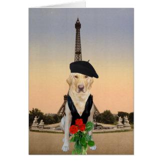Grappig Frans Hond/Laboratorium Valentijn Kaart