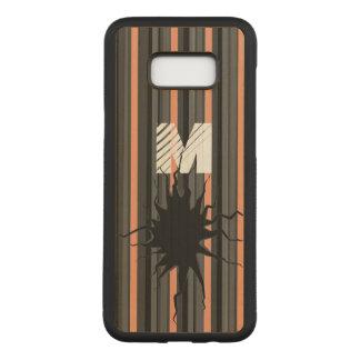 Grappig Gebroken kunstmonogram SamsungS8+ telefoon Carved Samsung Galaxy S8+ Hoesje