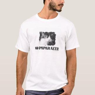 Grappig Geen Kat Paparazzi T Shirt