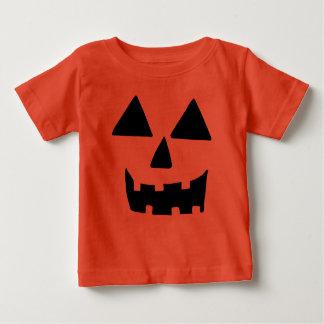 Grappig Gezicht Jackolantern Baby T Shirts