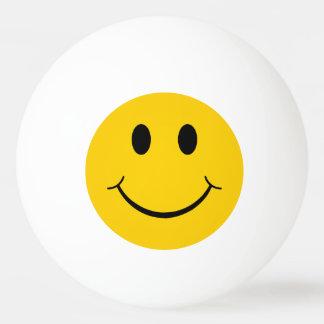 Grappig Gezicht Smiley Pingpongbal