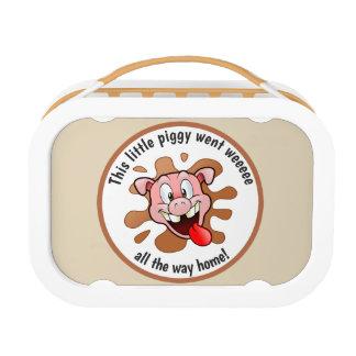 Grappig ging Dit Kleine Piggy Weeee Lunchbox