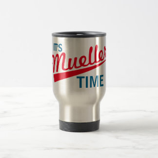 """Grappig """"het is de Tijd van Mueller """" Reisbeker"""