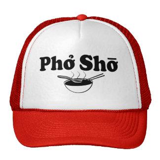 Grappig het spreuk foodie pet van Sho van Pho