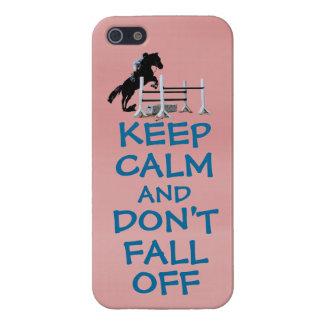 Grappig houd Rust & val niet van Paard iPhone 5 Case