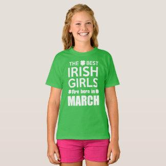Grappig Iers Meisje Geboren Maart T Shirt