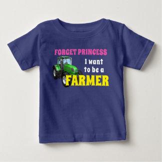 """Grappig """"ik wil een Landbouwer """" zijn Baby T Shirts"""
