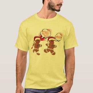 grappig Kerstmisoverhemd van het peperkoek T Shirt