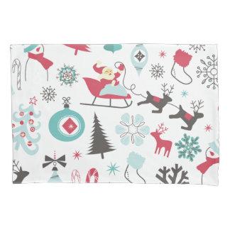 Grappig Kleurrijk Patroon Christmassy Kussensloop