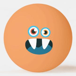 Grappig Leuk Blauw Monster Pingpongbal