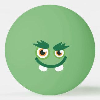 Grappig Leuk Groen Monster Pingpongbal
