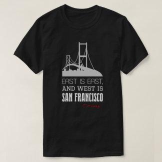 Grappig O.Henry citaat, het Oosten, het Westen, T Shirt