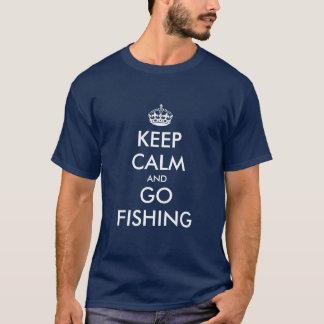 Grappig pensioneringsoverhemd | houdt kalm en gaat t shirt