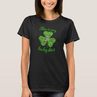 Grappig schitter het Overhemd van de Klaver T Shirt