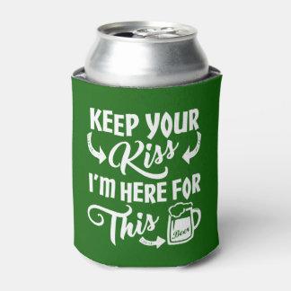 Grappig St Paddys Dag kus--Gegaan   Iers Bier Blikjeskoeler