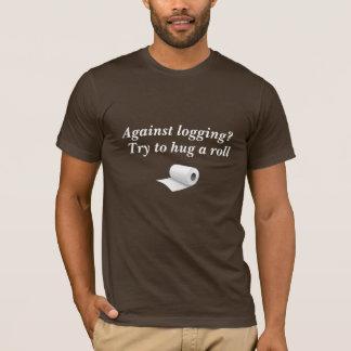(Grappig T-shirt) tegen Registreren? T Shirt