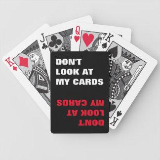 grappig typografiecitaat poker kaarten