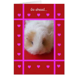 Grappig Valentijn -- Onbeschoft Wenskaart