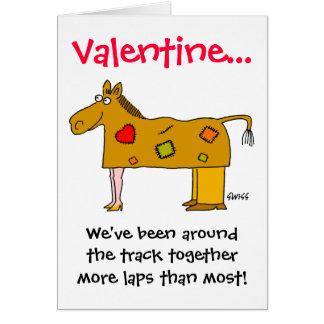 Grappig Valentijn vooral voor Echtparen Kaart