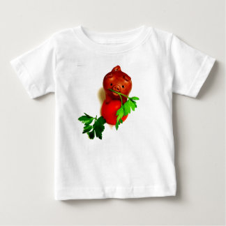 Grappig Varken met het Baby van de Peterselie en Baby T Shirts
