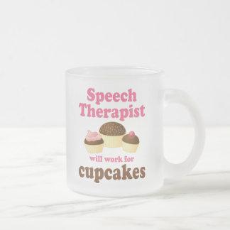 Grappig voor de Therapeut van de Toespraak Matglas Koffiemok
