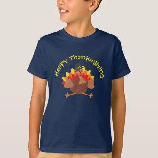 """Grappig Weinig Turkije """"Gelukkige Thanksgiving"""" - T Shirt"""