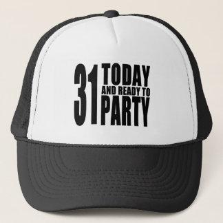 Grappige 31ste Verjaardagen: 31 vandaag en Klaar Trucker Pet