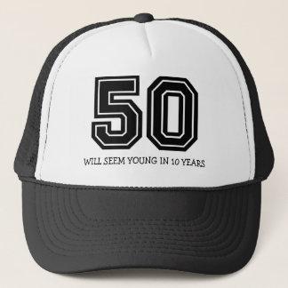 Grappige 50ste Verjaardag Trucker Pet