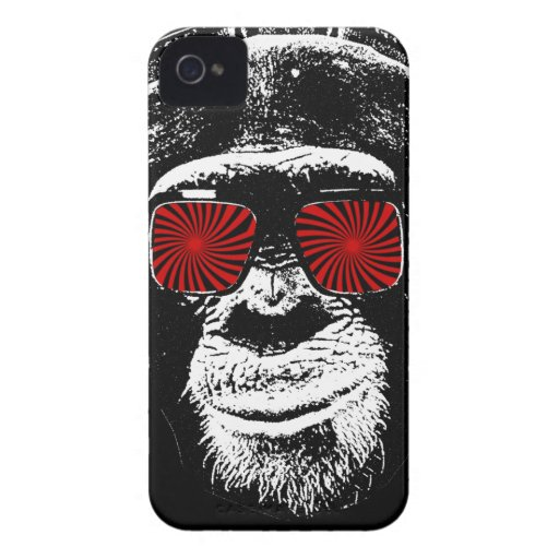 Grappige aap iPhone 4 hoesjes