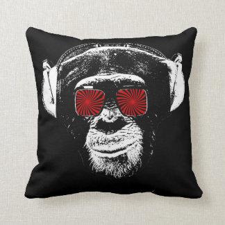 Grappige aap sierkussen