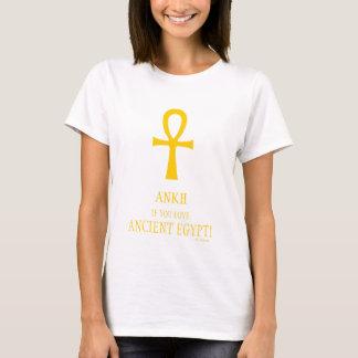 Grappige Ankh als u van het Oude Symbool van het T Shirt