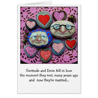 Grappige anti-Valentijn of verjaardagskaart Kaart
