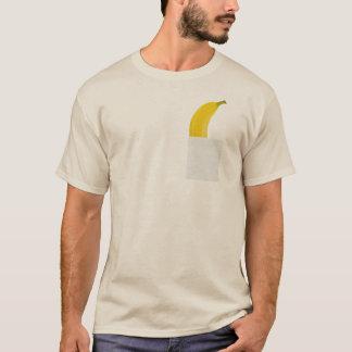 Grappige Banaan in Uw T-shirt van de Zak