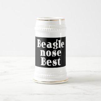 Grappige Brakken: Beste de Neus van de brak Bierpul