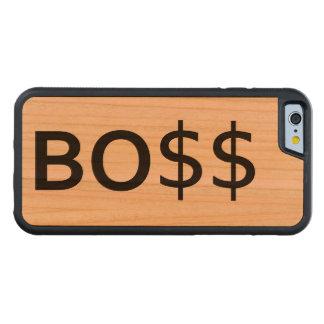 Grappige CHEF- Typografie met dollars Kersen iPhone 6 Bumper Case