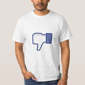 Grappige de afkeerknoop van Facebook - T Shirt