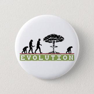 Grappige de evolutie evolueert ronde button 5,7 cm