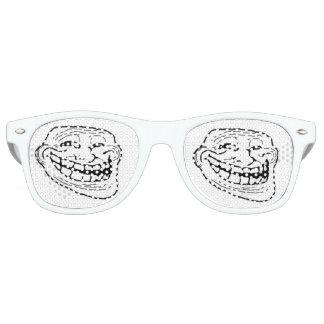 grappige de glazen van het sleeplijngezicht meme festival zonnebril
