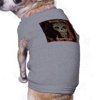 Grappige de Hond van Badass T-shirt