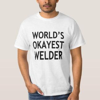 Grappige de Lasser van Okayest van de wereld T Shirt