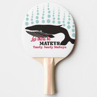 Grappige de orka smakelijke mateys van het tafeltennis bat